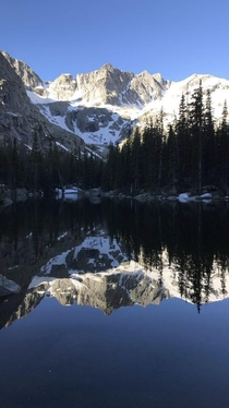 Mirror Lake CO Betcha cant guess why its called that