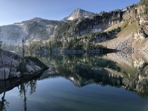 Mirror Lake Eagle Cap Wilderness Oregon