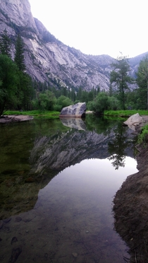 Mirror Lake Yosemite NP early am