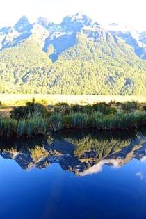 Mirror Lakes- New Zealand-South Island x