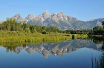 Mirror Reflection of the Grand Tetons