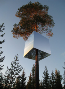 Mirrorcube in Sweden - xpost from rcuriousplaces