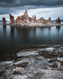 Missed a spectacular sunset on Mono Lake by just a few minutes but this is spectacular even in blue hour