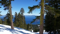 Missed the Lake Tahoe train yesterday Feb