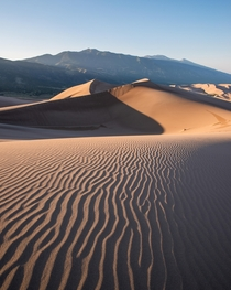 Missing the west after transplanting to the east Great Sand Dunes NP Colorado