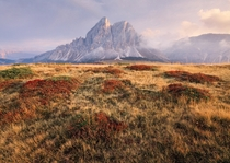 Missing the wide open spaces and soft painterly light of the Dolomites Italy
