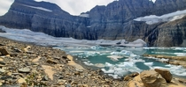 Missing these beautiful glaciers Grinnell and Salamander Glaciers  Glacier National ParkMT