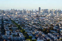 Mission District and Downtown San Francisco