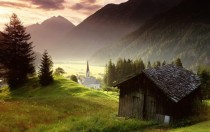 Misty Morning in Tyrol Austria