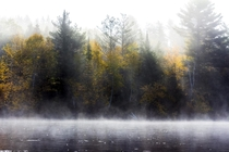Misty Morning on the River NH