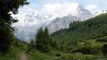 Mnch and Jungfrau in the Swiss Alps