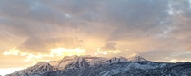 Mnt Timpanogas Utah saying goodnight to the Sun on a Saturday