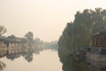 Moat around the Imperial City - Beijing China