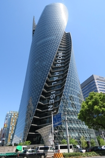 Mode Gakuen Spiral Tower Nagoya Japan architect amp structural engineer Nikken Sekkei inaugurated