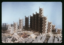 Model for Lower Manhattan Expressway New York City c  Paul Rudolph