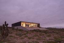 Modern House On Rugged Terrain by nuform in Chile