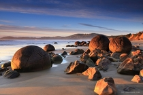 Moeraki Boulders New Zealand - Photo by Chris Gin