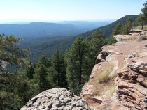 Mogollon Rim Arizona old photo - low res