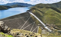 Mohale Dam Lesotho highest concrete-face rock-fill dam in Africa
