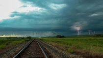 Moments before the Tornado - Foxwarren Manitoba Canada  jandersonphotography