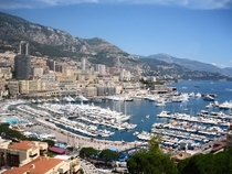 Monaco on a hot summer day