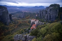 Monasteries of Meteora Greece
