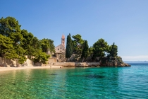 Monastery Beach in Bol Croatia
