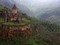 Monastery in Tatev south Armenia