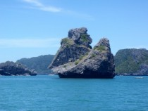 Monkey Island Ang Thong National Marine Park Gulf of Thailand