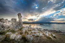 Mono Lake CA at Sunset