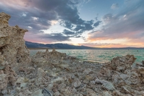 Mono Lake CA during Sunset