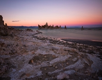Mono Lake in California by Chris Delle