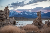 Mono Lake in California You could go blind if you open your eyes in the water