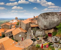 Monsanto Portugal This Medieval village was built around boulders