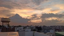 Monsoon Sky in Lucknow India