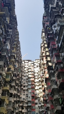 Monster building in HK and Quarry Bay