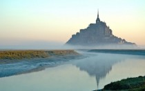 Mont Saint-Michel in Normandy France