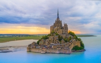 Mont Saint Michel Normandie France