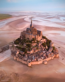 Mont-Saint Michel Normandy France