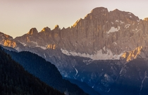 Monte Civetta in the Italian Dolomites