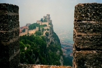 Monte Titano Repubblica di San Marino   sq mile enclaved microstate surrounded by Italy