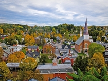 Montpelier Vermont smallest state capital in the United States