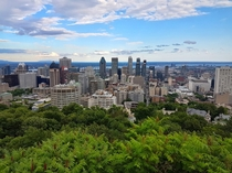 Montreal viewed from Mont Royal