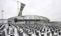 Montreals Olympic Stadium is about to welcome the citys hundreds of bike share stations in its underbelly for the winter