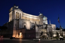 Monument of Vittorio Emanuele II Rome - Night time