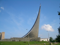 Monument to the Conquerors of Space Moscow