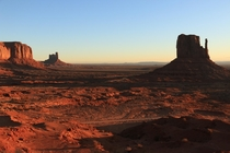 Monument Valley at sunrise Christmas morning