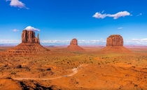 Monument Valley by Adrian Chandler
