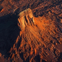 Monument Valley from above  by Marco Grassi