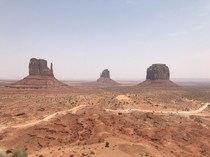 Monument Valley last summer
